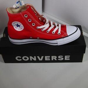 30f2b78b1b1 Converse Classic Red All Star High Tops